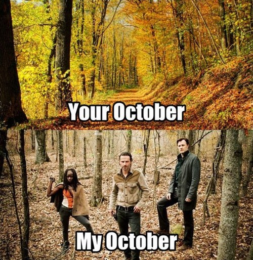 october The Walking Dead - 7821514496