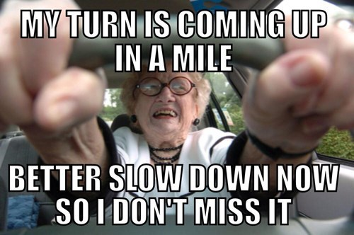 driving,image macros,old people,logic