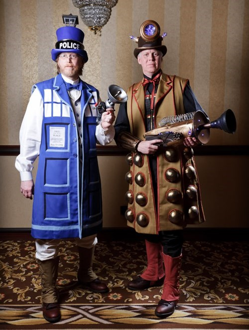 cosplay Steampunk doctor who - 7821560320