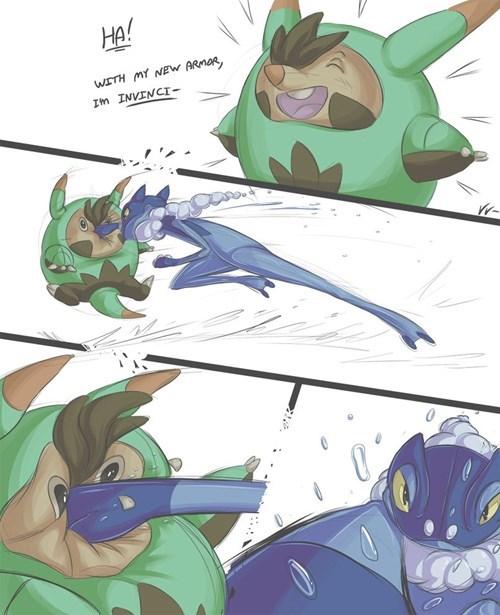 Pokémon frogadier quilladin comics - 7821580800