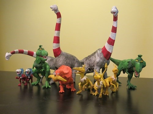 dr seuss funny dinosaurs g rated win