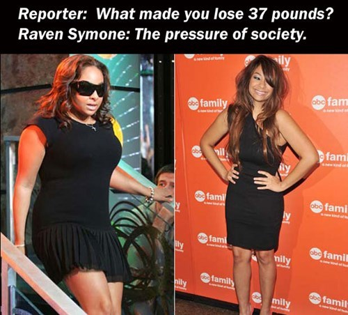 weight loss,raven symone,societal pressure