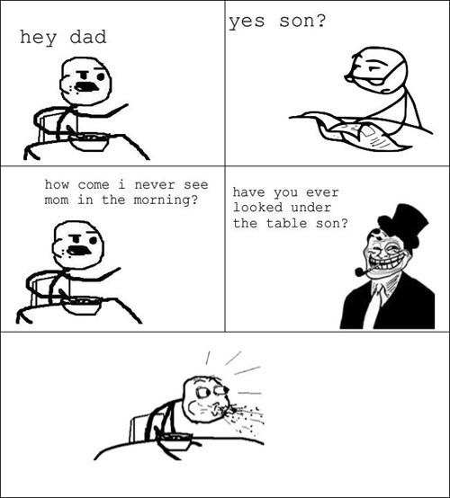 cereal guy,troll dad,parenting