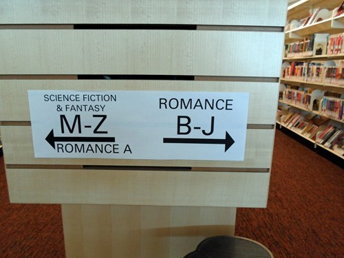 libraries signs books funny there I fixed it g rated - 7822078464