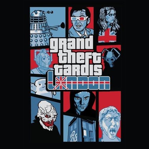 tardis doctor who Grand Theft Auto video games - 7822453504