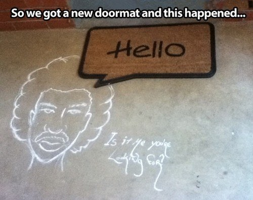 hello lionel richie doormat Music g rated - 7822656000