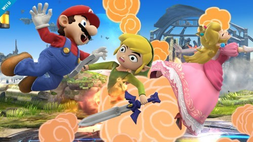 toon link super smash bros Video Game Coverage - 7822710016