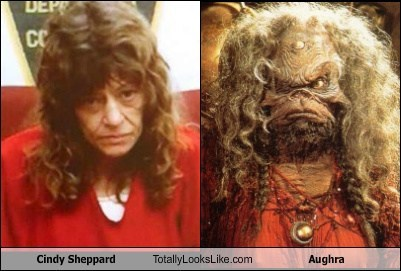 dark crystal,cindy sheppard,Aughra,totally looks like