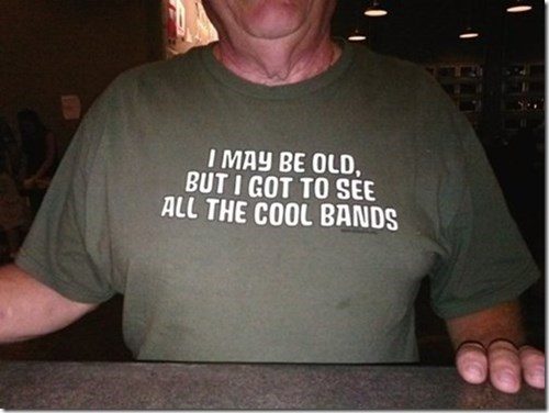 Music shirt old people poorly dressed g rated