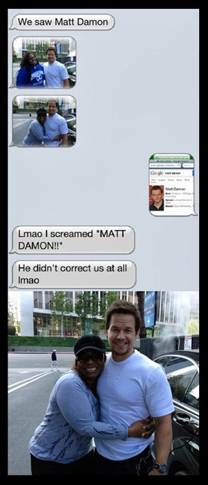 matt damon,celeb,Mark Wahlberg