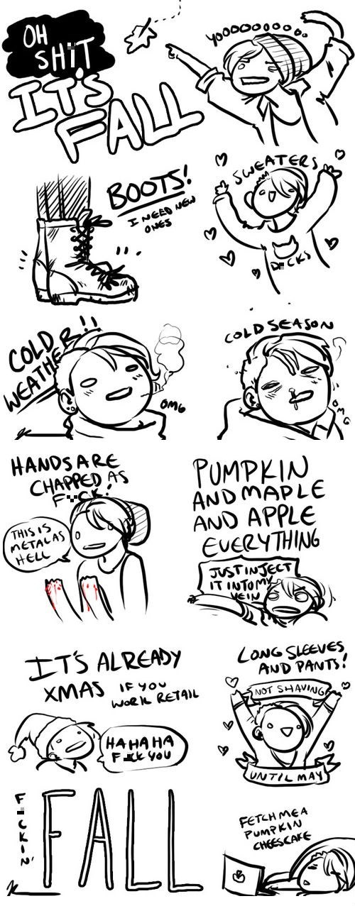 Webcomic,fashion,fall