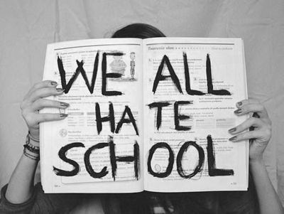 hate school wtf funny - 7822869248