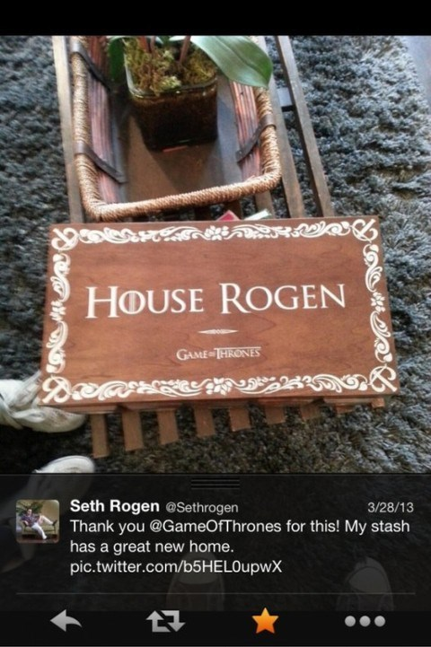 twitter,Seth Rogen,Game of Thrones