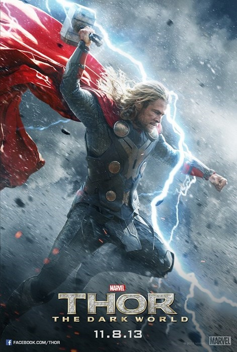 loki Thor poster uproxx thor the dark world - 7822980352