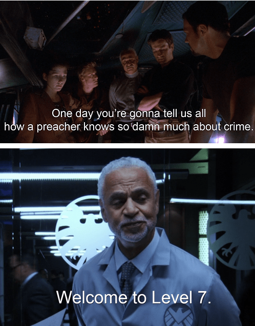 Firefly ron glass shepherd book agents of shield - 7822983936