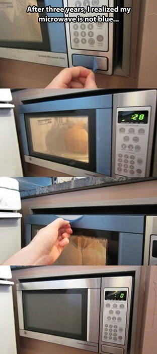 microwaves funny there I fixed it g rated