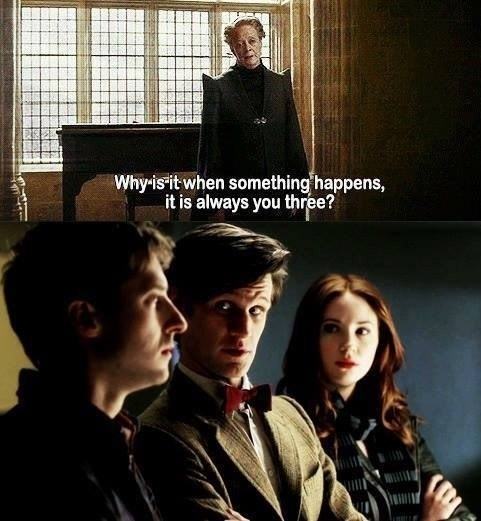 crossover Harry Potter 11th Doctor doctor who - 7823099136