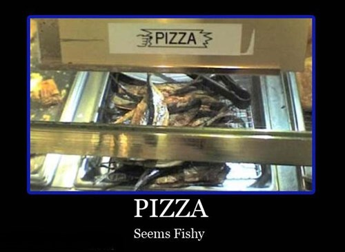 wtf pizza fish funny