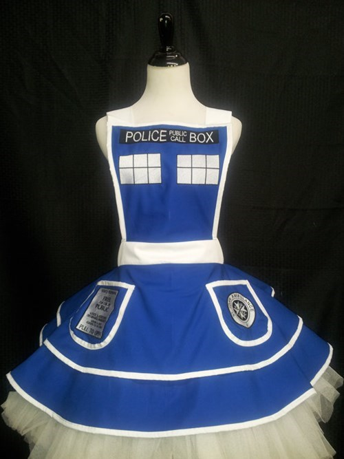 tardis for sale doctor who aprons - 7823104000