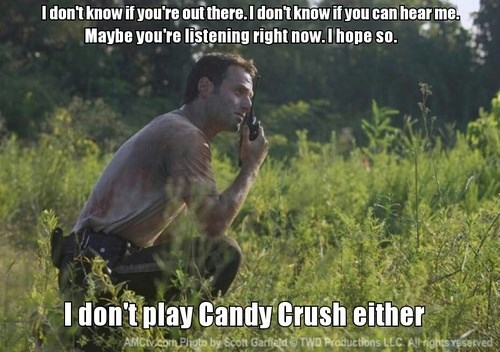 candy crush,Memes,The Walking Dead