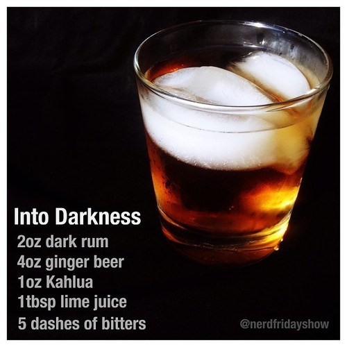 Movie into darkness Star Trek funny cocktail - 7823177216