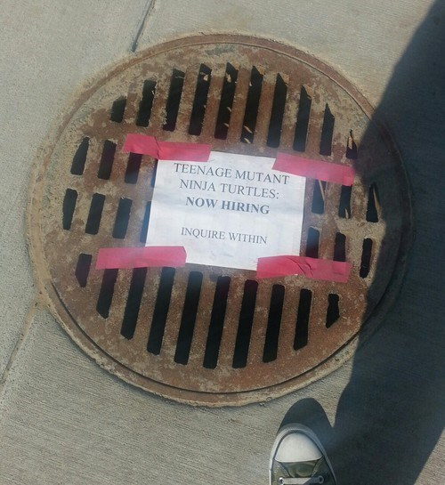 TMNT,IRL,cartoons,sewers