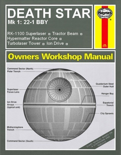star wars manual Death Star - 7823190272