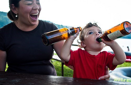 beer,wtf,kids,drunk