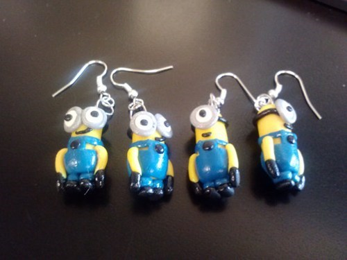 despicable me earrings for sale - 7823306240