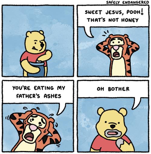 sad but true,tiger,funny,winnie the pooh,web comics