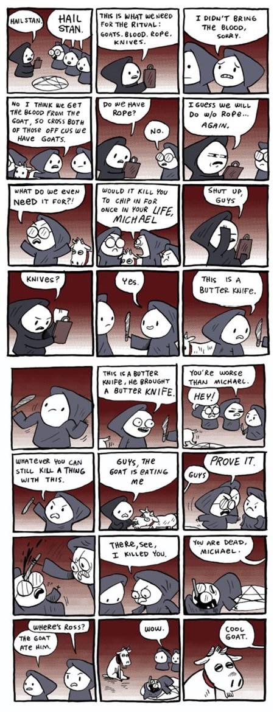 goats satanism funny web comics - 7823321088
