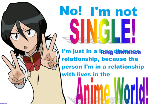 forever alone anime funny