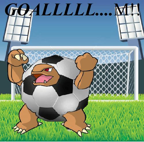golem Pokémon soccer