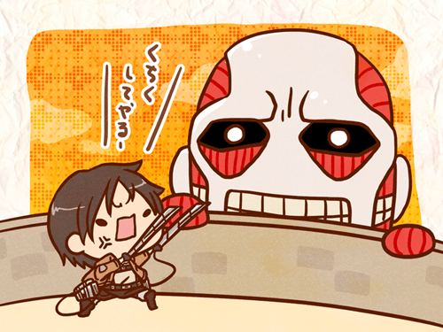 anime Fan Art cute attack on titan - 7823760896
