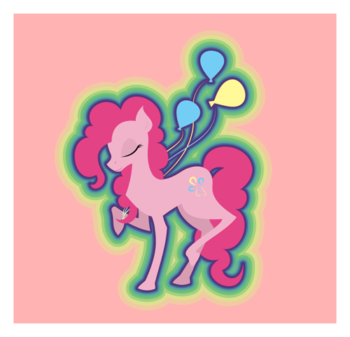 Fan Art Balloons pinkie pie - 7824207872