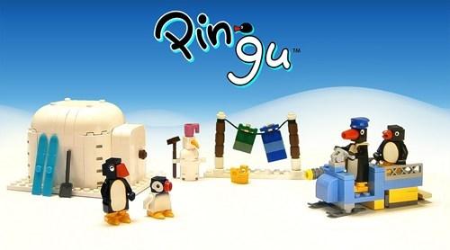 Pingu in LEGO!