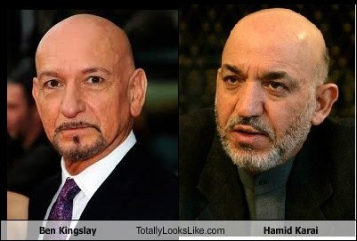 Ben Kingsley,totally looks like,hamid karai,funny