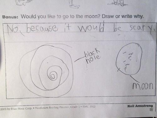 black holes kids moon parenting funny - 7824883456