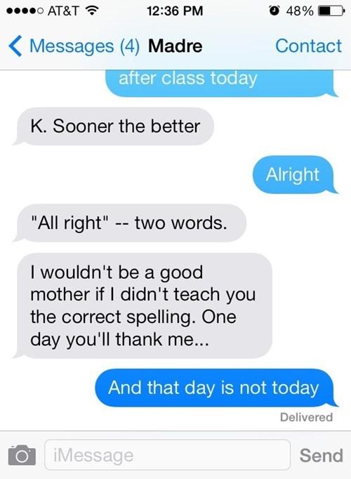 grammar text moms parenting funny - 7824886784