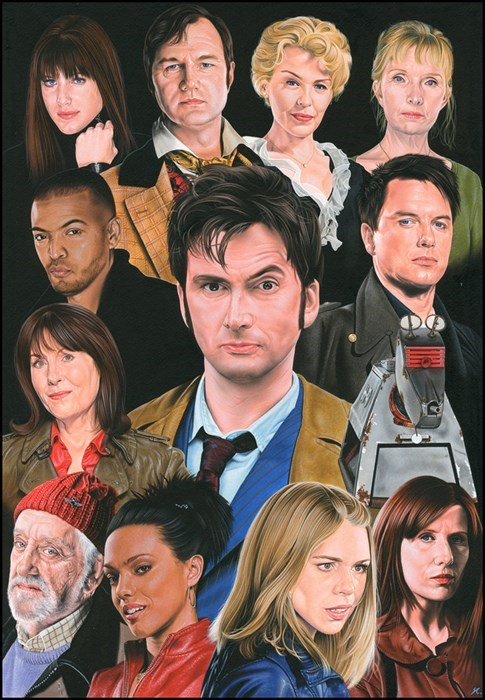 10th doctor Fan Art doctor who - 7824946688