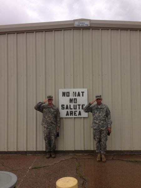 no hats,salute,soldiers