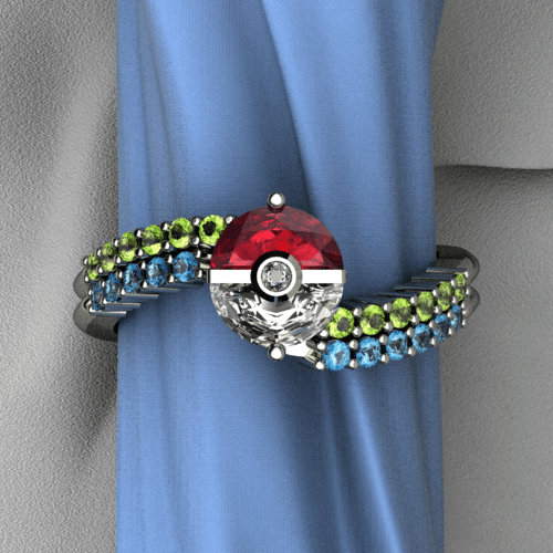 rings Pokémon for sale weddings - 7824984832