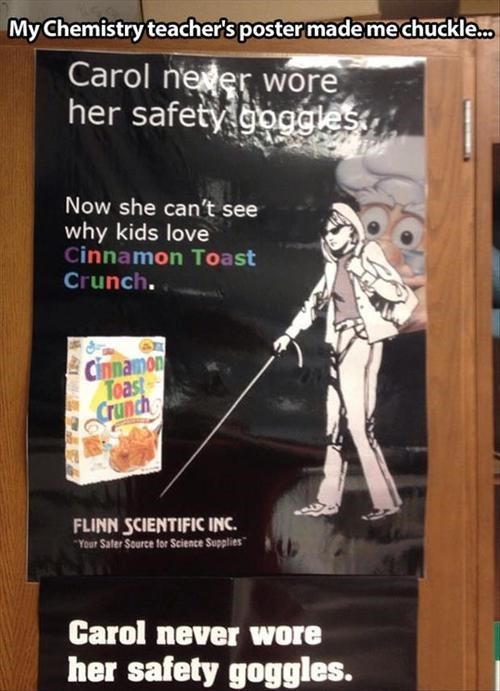 cinnamon toast crunch posters safety goggles - 7825039104