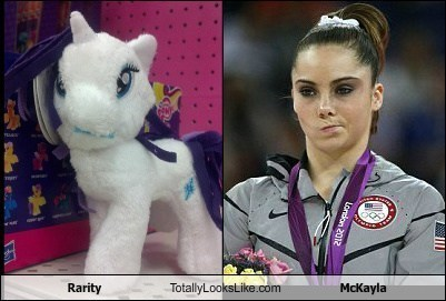totally looks like rarity mckayla - 7825375232
