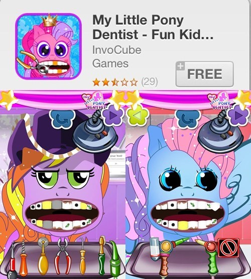 game G3 horrifying MLP - 7825458688