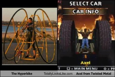 hyperbike,twisted metal,totally looks like,axel,funny