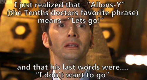 10th doctor doctor who allons y - 7825743872
