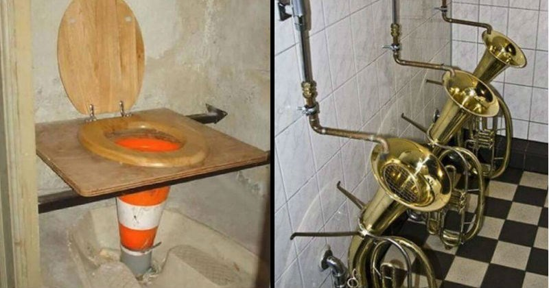 cursed toilet images