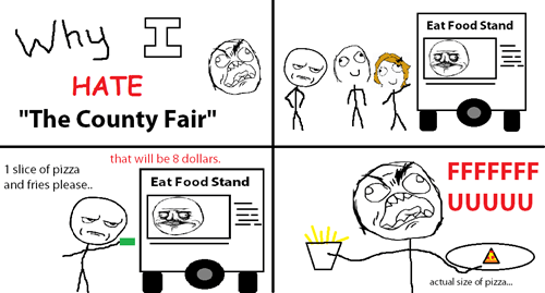 county fair,food,portion sizes