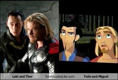 loki,Thor,totally looks like,tulio,funny,miguel